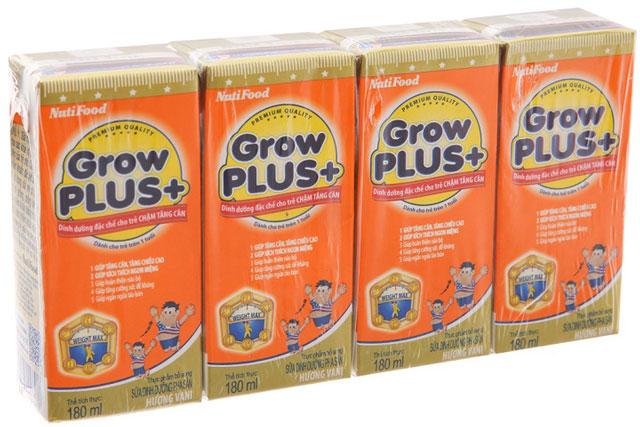 Sữa Grow Plus Cam pha sẵn